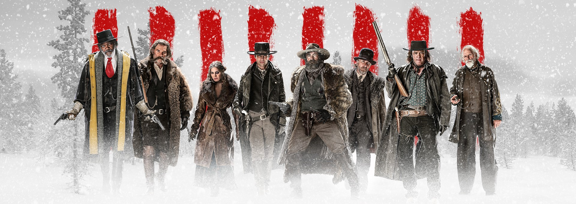The Hateful 8 (2015) Filmkritik Slider