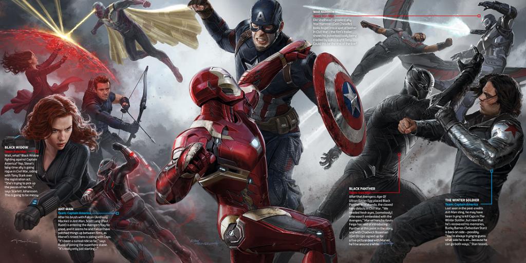 Captain America Civil War Bild 1