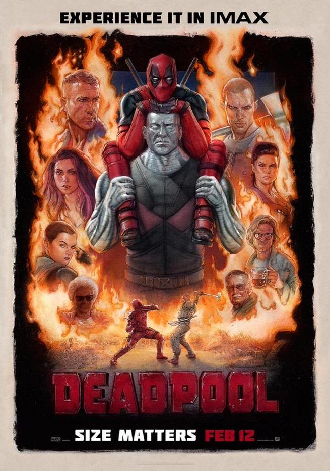 Deadpool Poster IMAX
