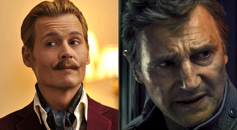 Überbezahlte Schauspieler 2015 Johnny Depp
