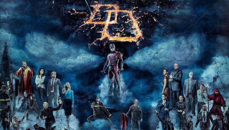 Daredevil Staffel 2 Start Poster