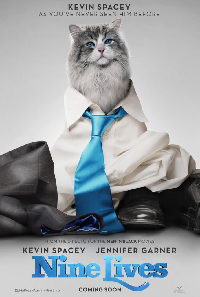 Nine Lives Trailer & Poster