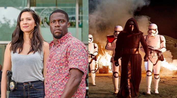 Box Office USA Ride Along 2 Star Wars
