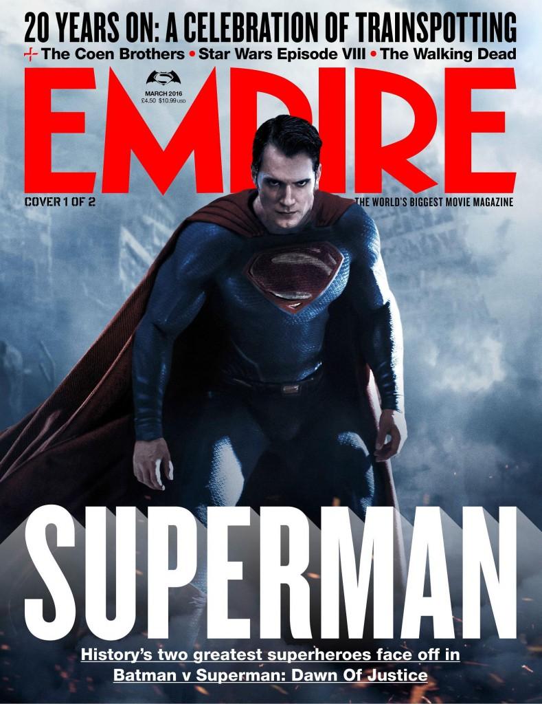 Batman v Superman Poster Empire Cover 2