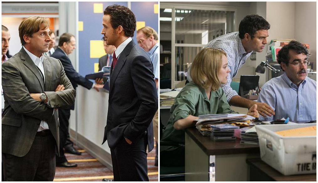 WGA Awards Gewinner 2015 Spotlight The Big Short