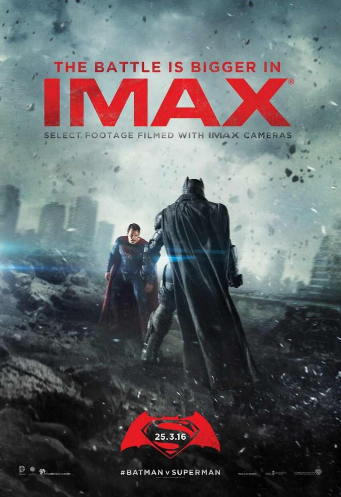 Batman v Superman Trailer IMAX Poster