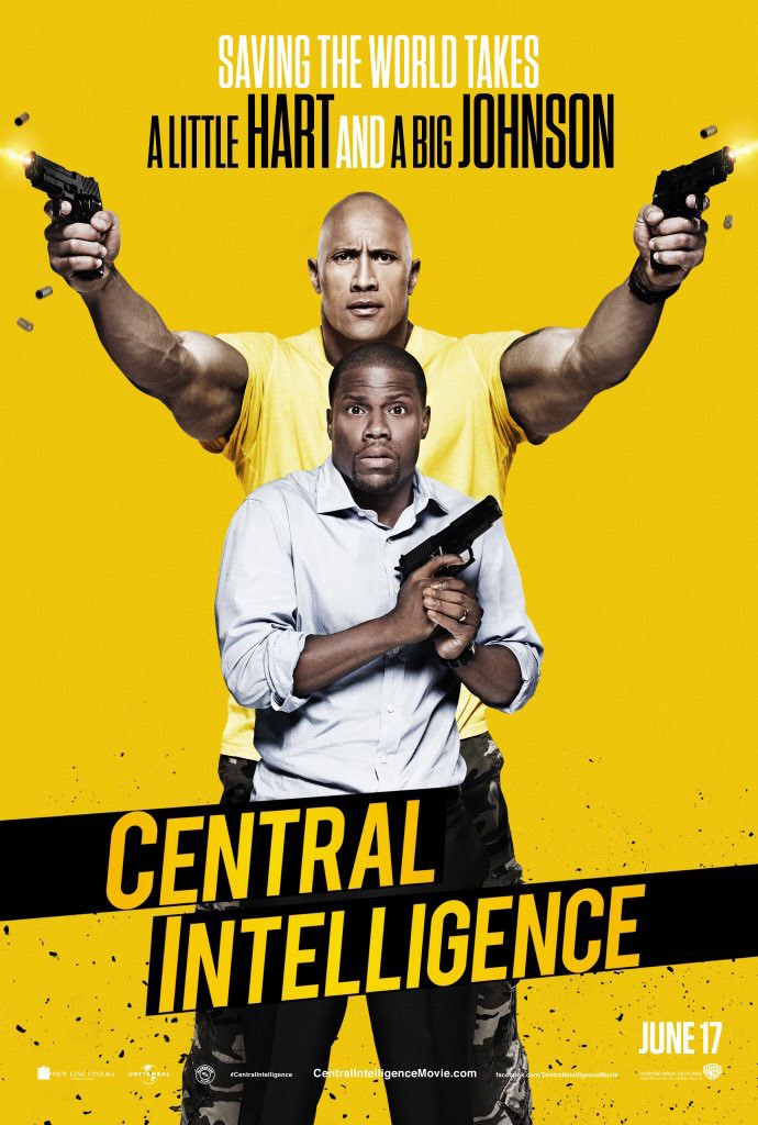 Central Intelligence Trailer & Poster