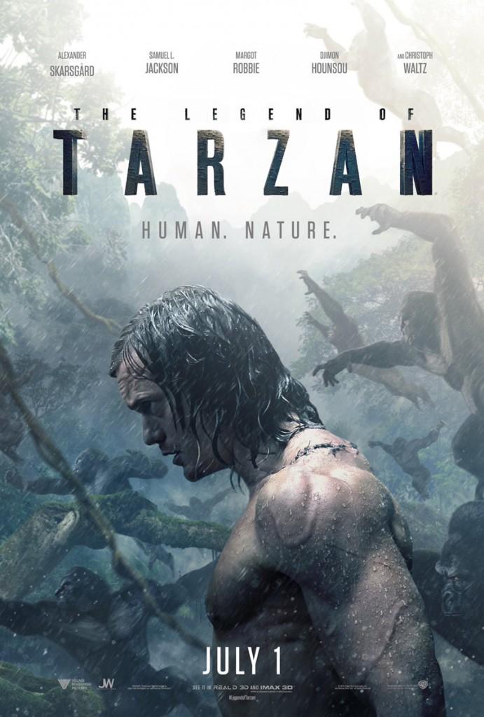 Legend of Tarzan Trailer & Poster