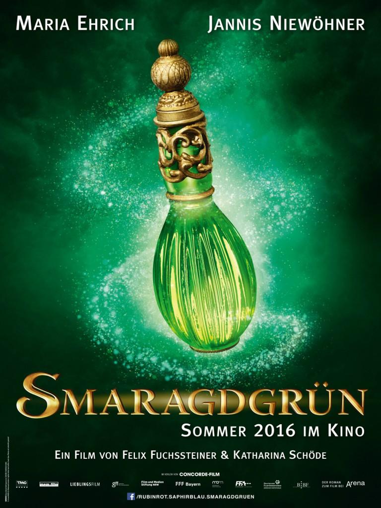 Smaragdgrün Kinostart Teaser-Poster