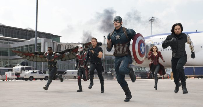 The First Avenger Civil War Clip