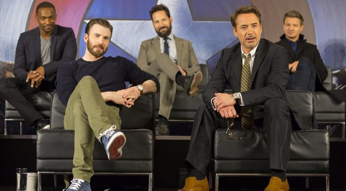 The First Avenger Civil War Pressekonferenz