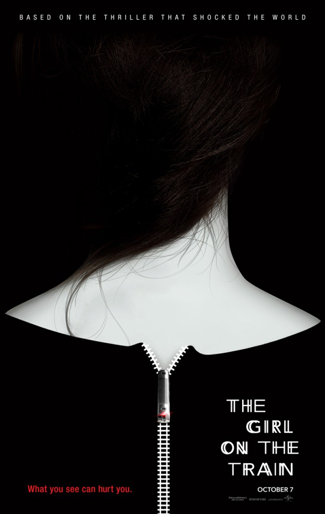 The Girl on the Train Trailer & Poster