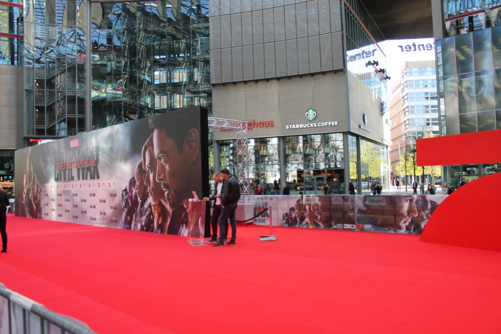 The First Avenger: Civil War Premiere Bild 1