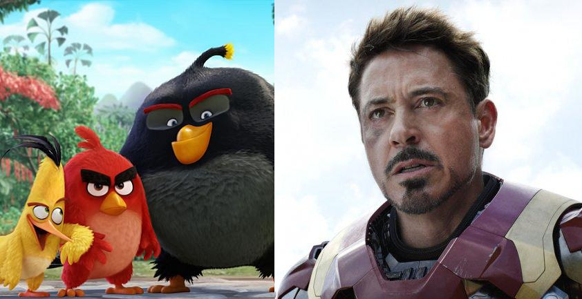 Angry Birds Civil War Box Office Deutschland