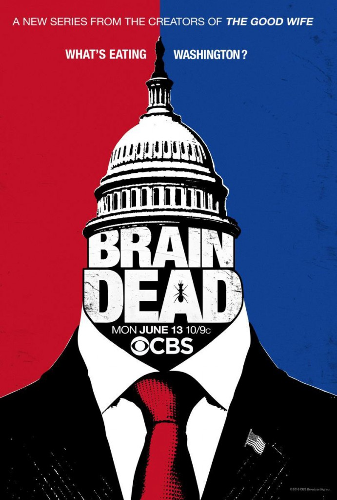 BrainDead Teaser Poster