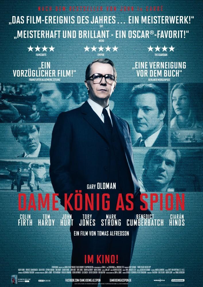 Dame König As Spion (2011) Cover