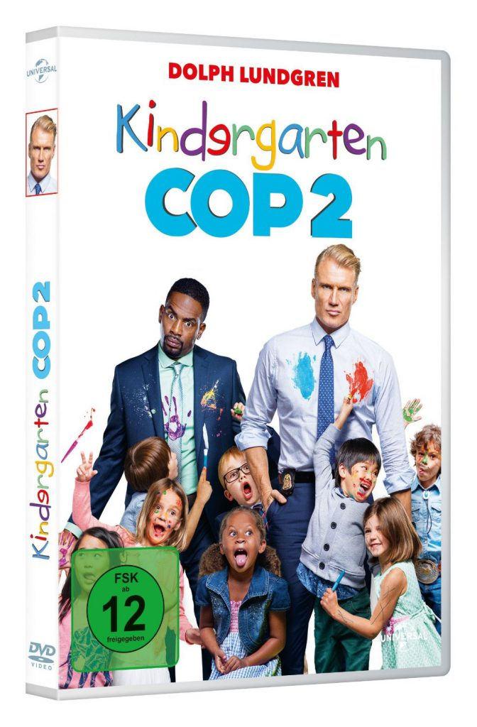 Kindergarten Cop 2 Dolph Lundgren Interview DVD Cover