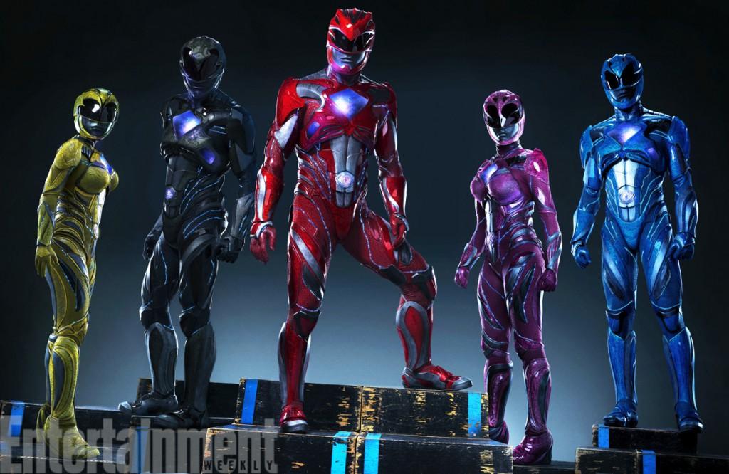Power Rangers 2017 Kostüme