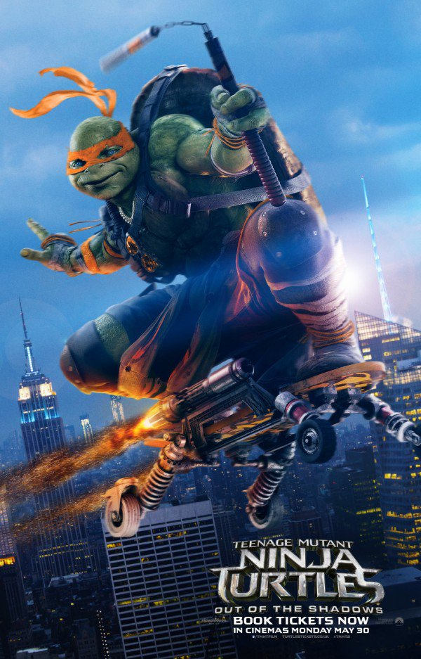 Teenage Mutant Ninja Turtles 2 Trailer & Poster 8