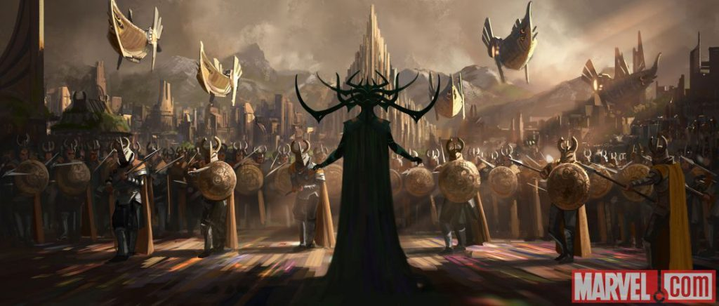 Thor 3 Cast Concept Art