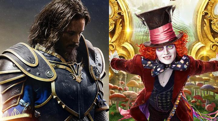 Alice im Wunderland 2 Warcraft Box-Office