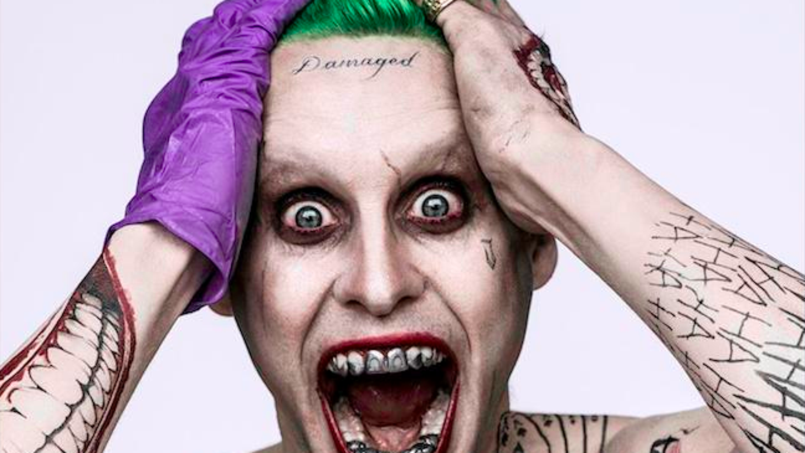 Suicide Squad Joker Tattoos