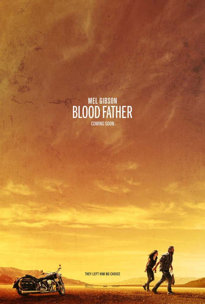 Mel Gibson Blood Father Poster