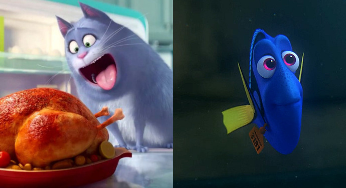 Findet Dorie Pets Box Office USA