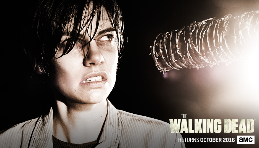 The Walking Dead Staffel 7 Start Charakterposter 3