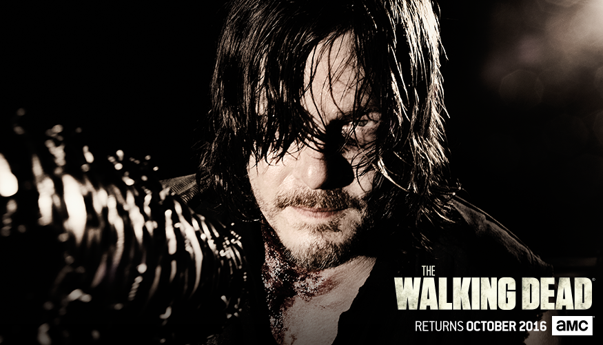 The Walking Dead Staffel 7 Start Charakterposter 7