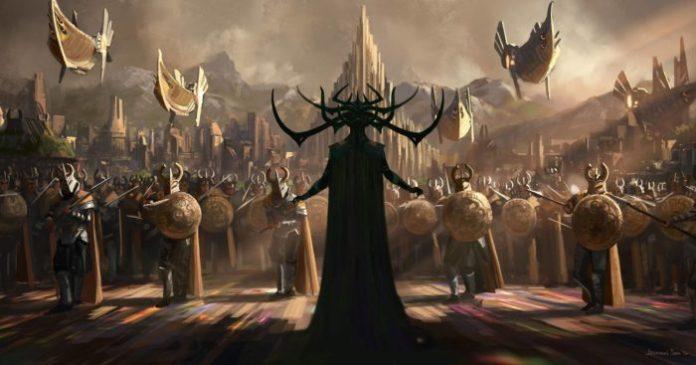 Thor Ragnarok Drehstart