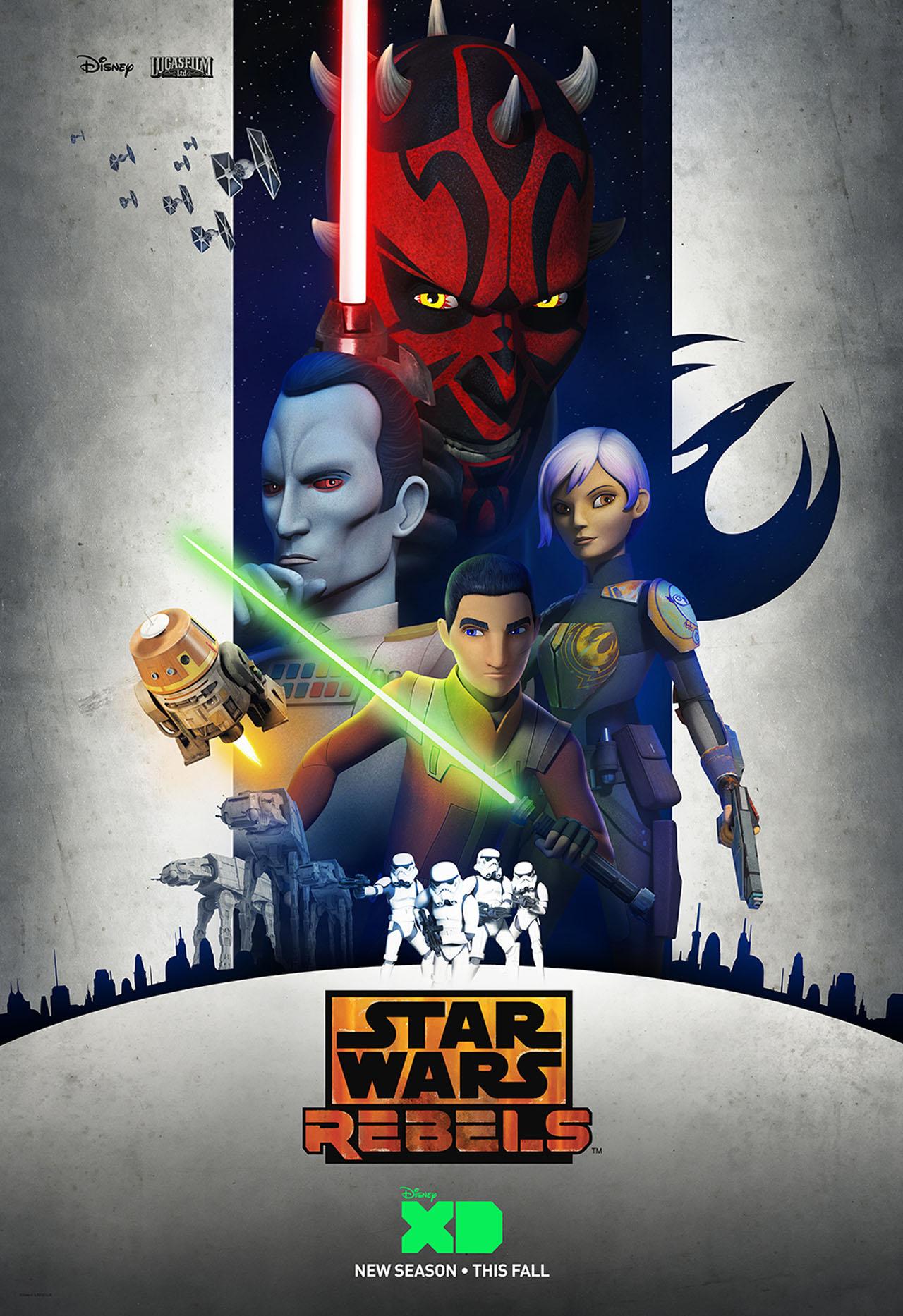 Star Wars Rebels Staffel 3 Trailer & Poster
