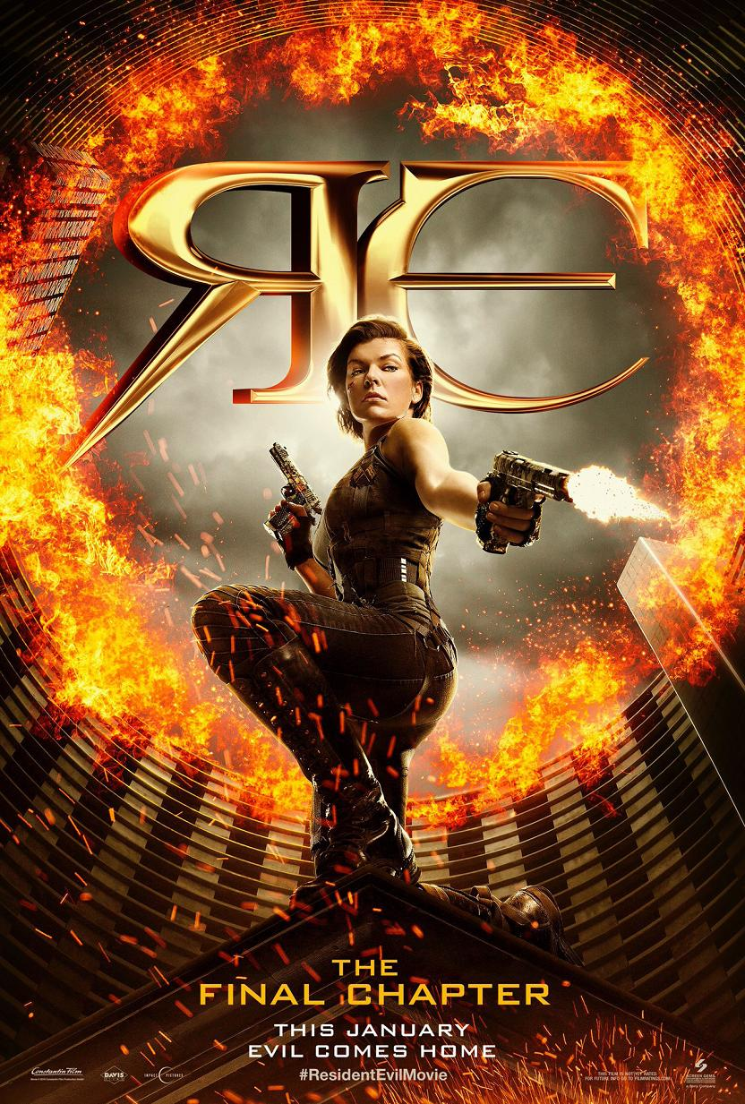 Resident Evil The Final Chapter Trailer & Poster 2