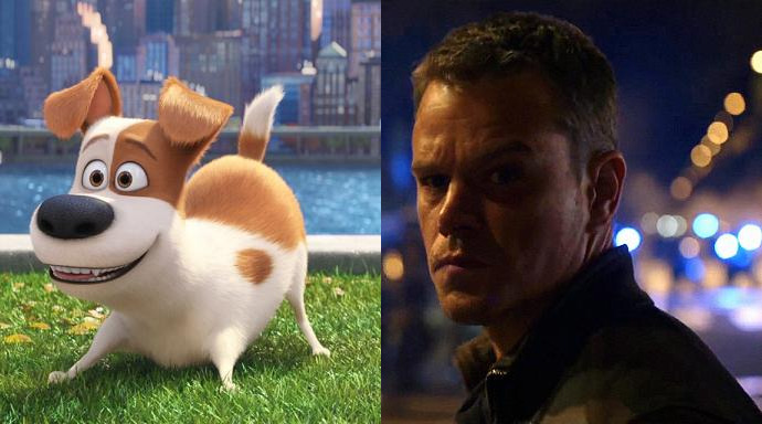 Pets Jason Bourne Box Office Deutschland