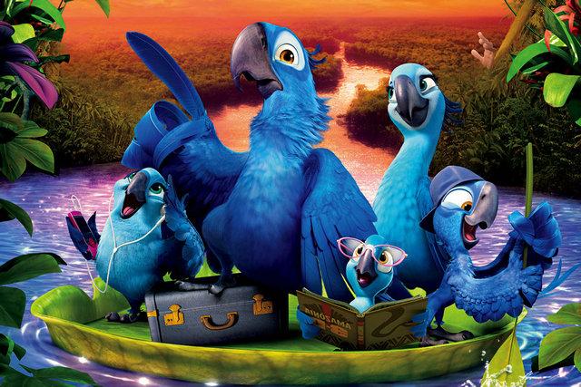 Rio 2 - Dschungelfieber (2014) Filmbild 1