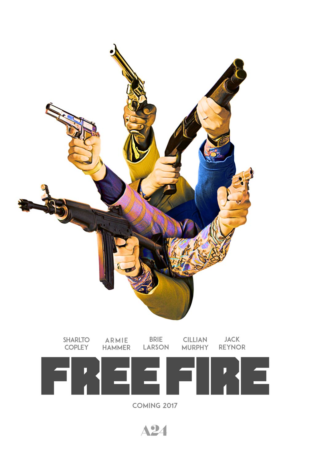 Free Fire Trailer & Poster