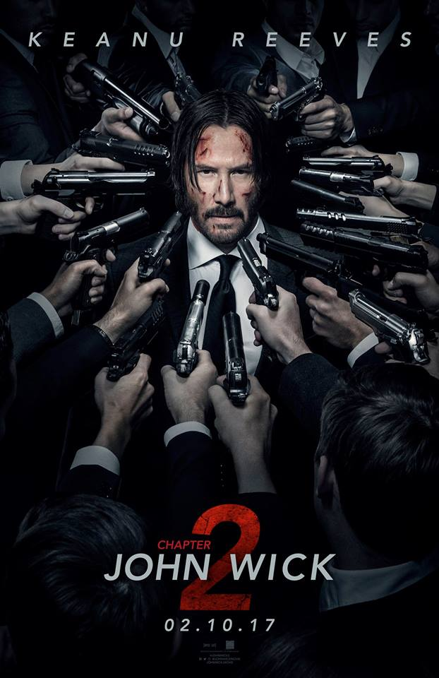 John Wick Kapitel 2 Teaser Poster 2