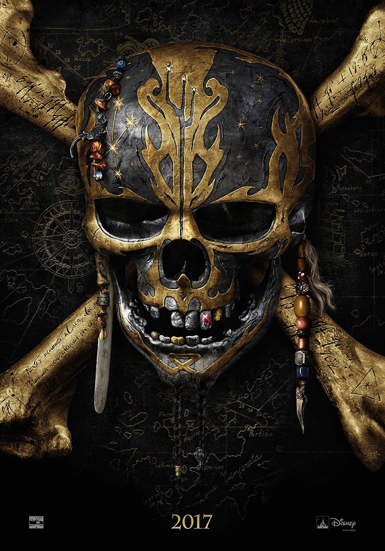 Pirates of the Caribbean 5 Teaser Poster