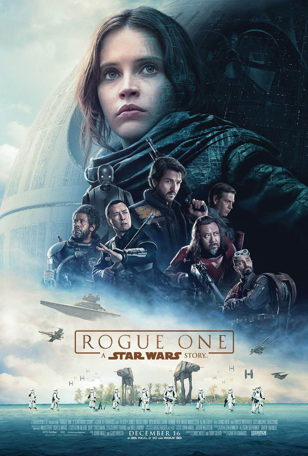 Star Wars Rogue One Trailer & Plakat