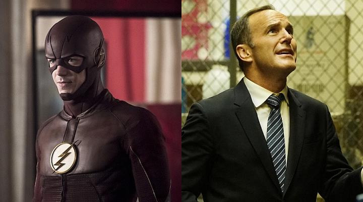 Agents of SHIELD The Flash Season 3 Quoten