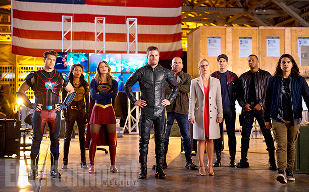 Arrow The Flash Legends of Tomorrow Supergirl Crossover Foto 2