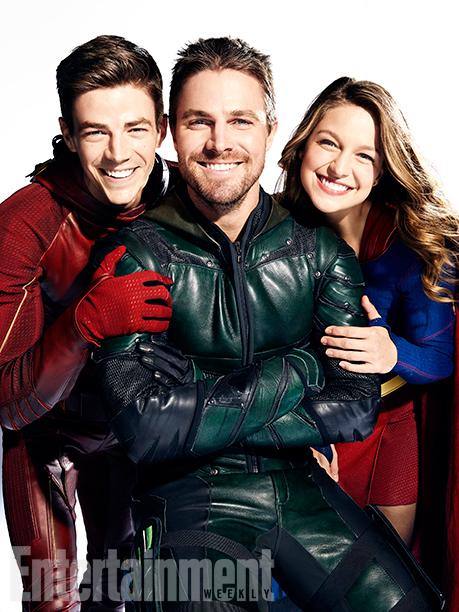Arrow The Flash Legends of Tomorrow Supergirl Crossover Foto 6