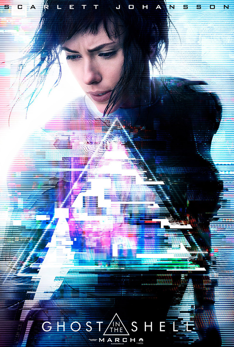 Ghost in the Shell Trailer & Poster