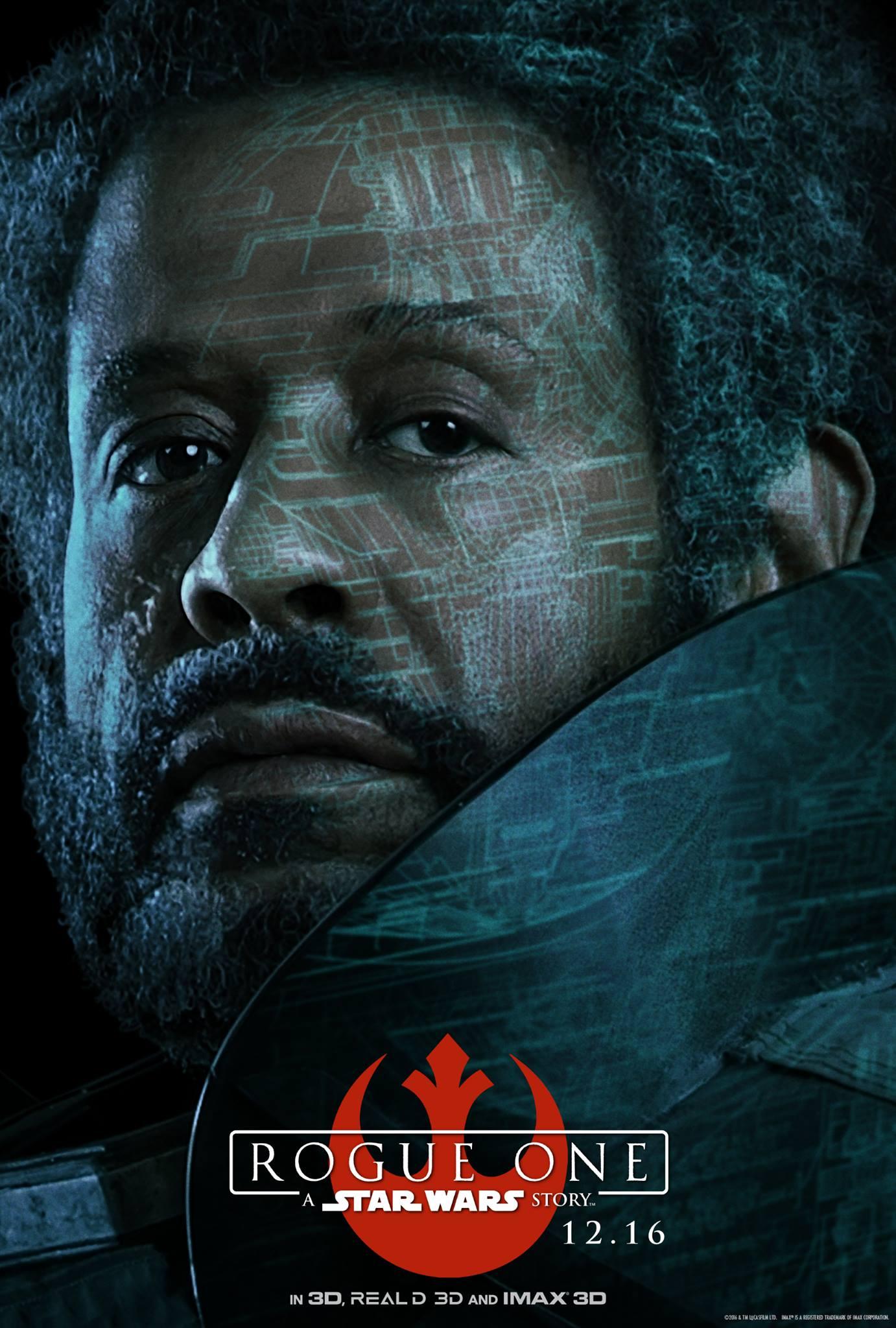 Rogue One a Star Wars Story Vorschau Charakterposter 8