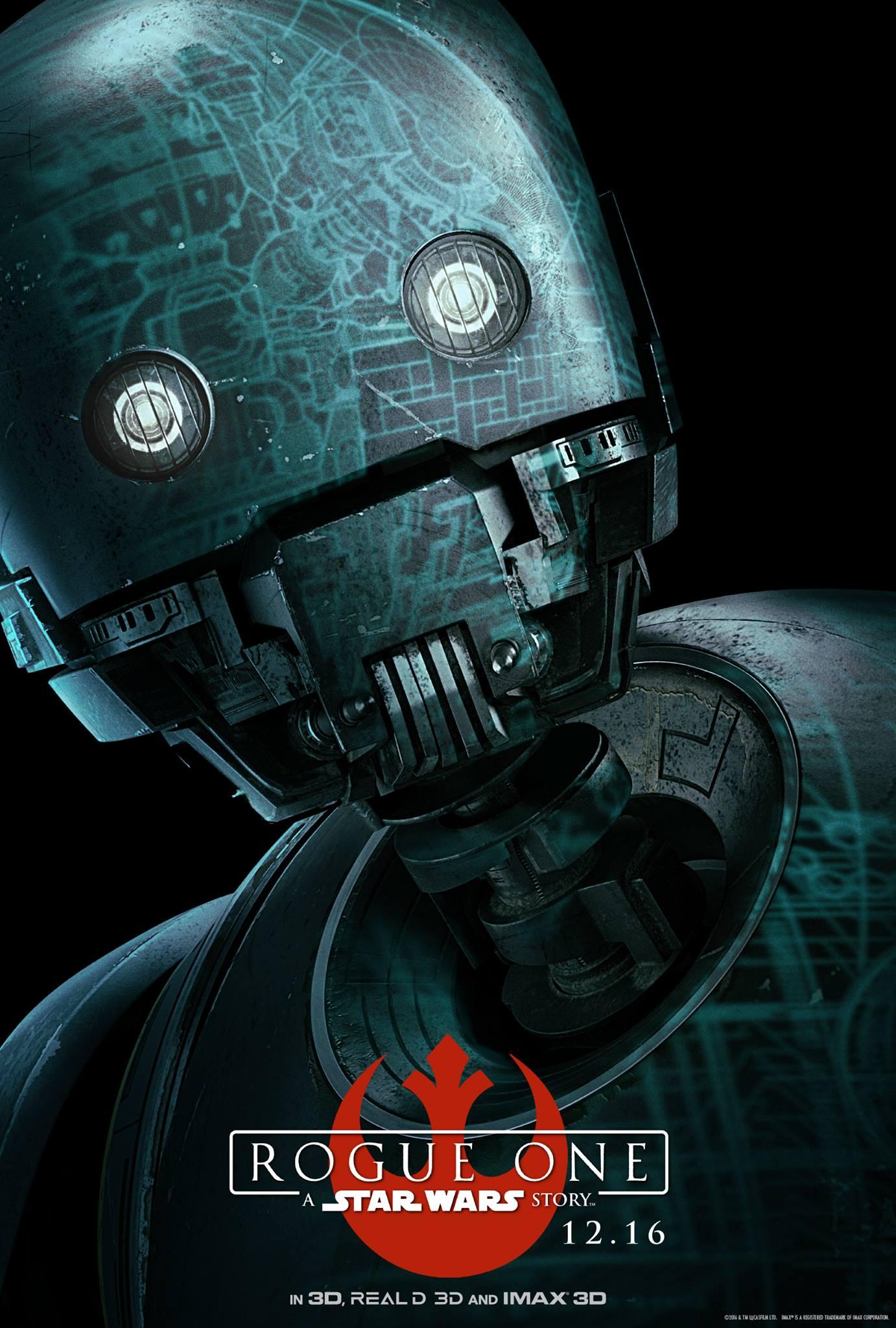 Rogue One a Star Wars Story Vorschau Charakterposter 6