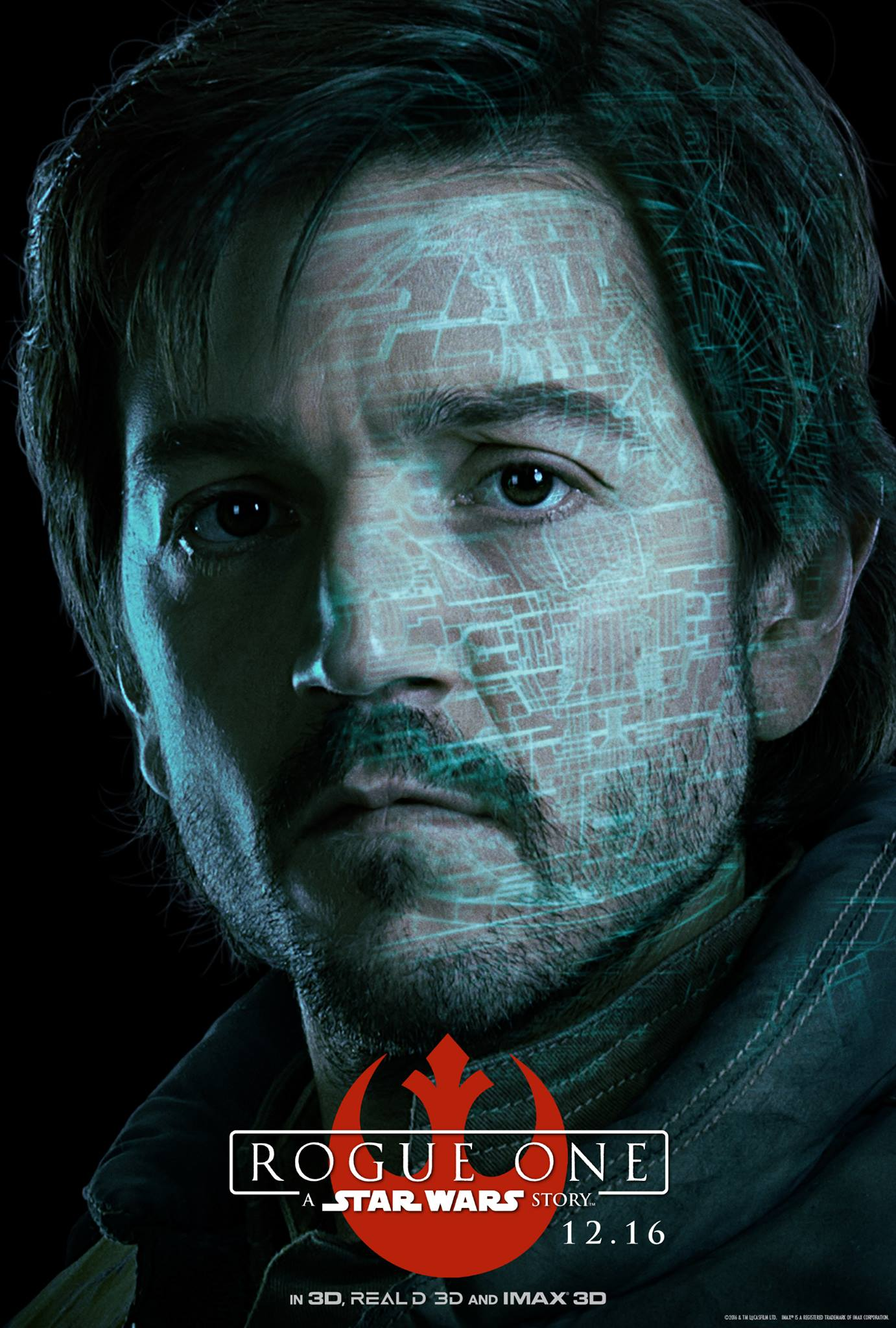 Rogue One a Star Wars Story Vorschau Charakterposter 2