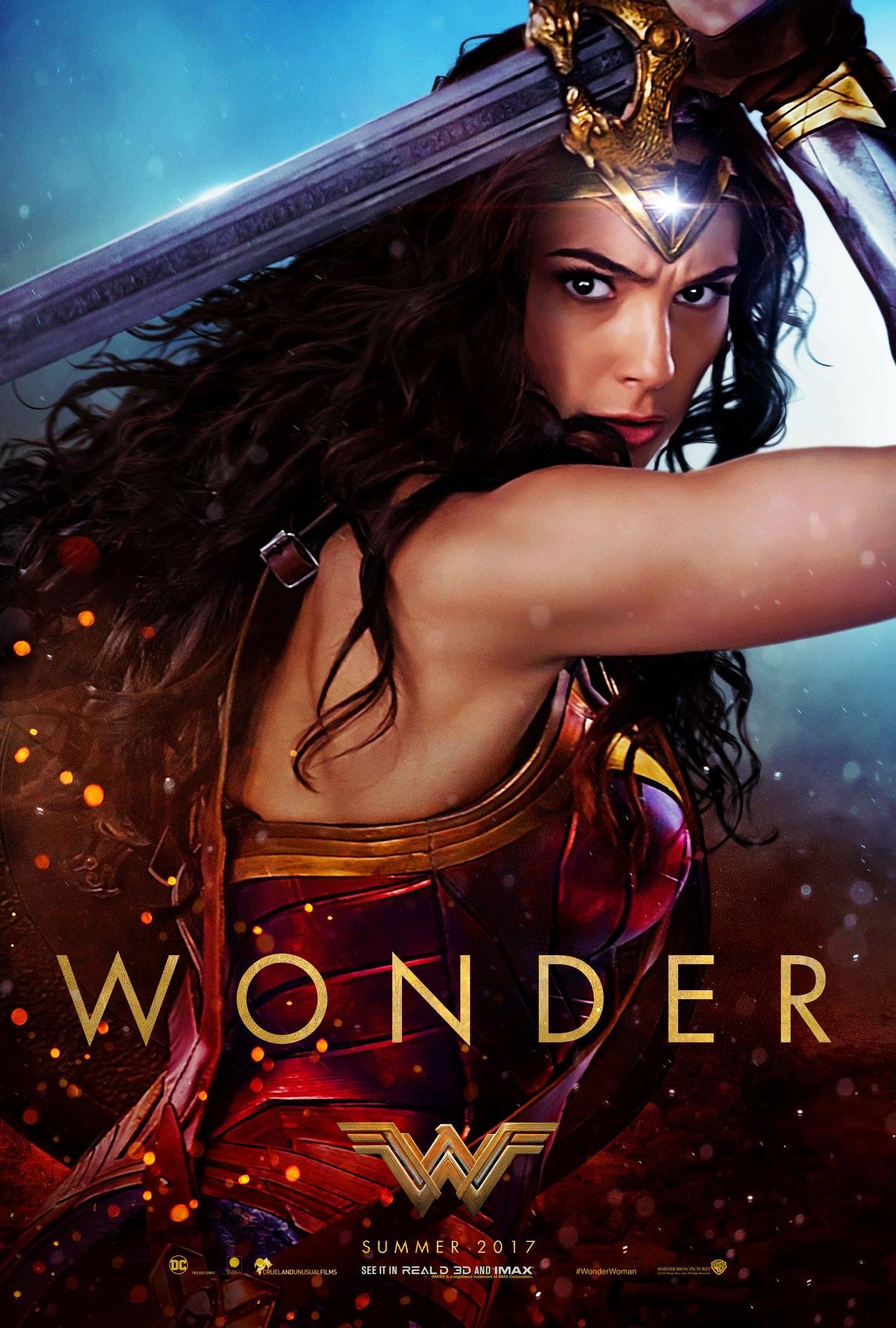 Wonder Woman Trailer Poster 1