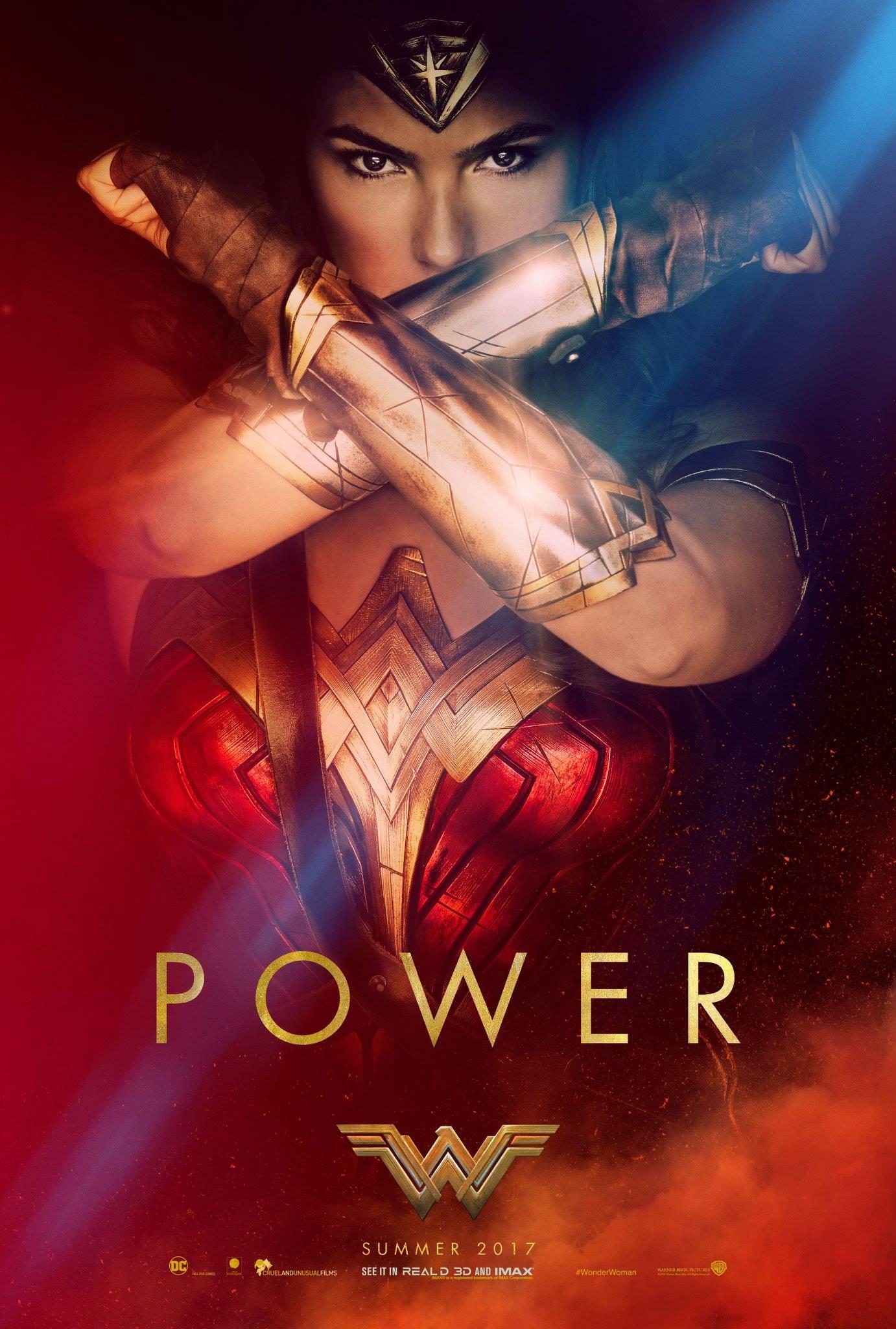 Wonder Woman Trailer Poster 2