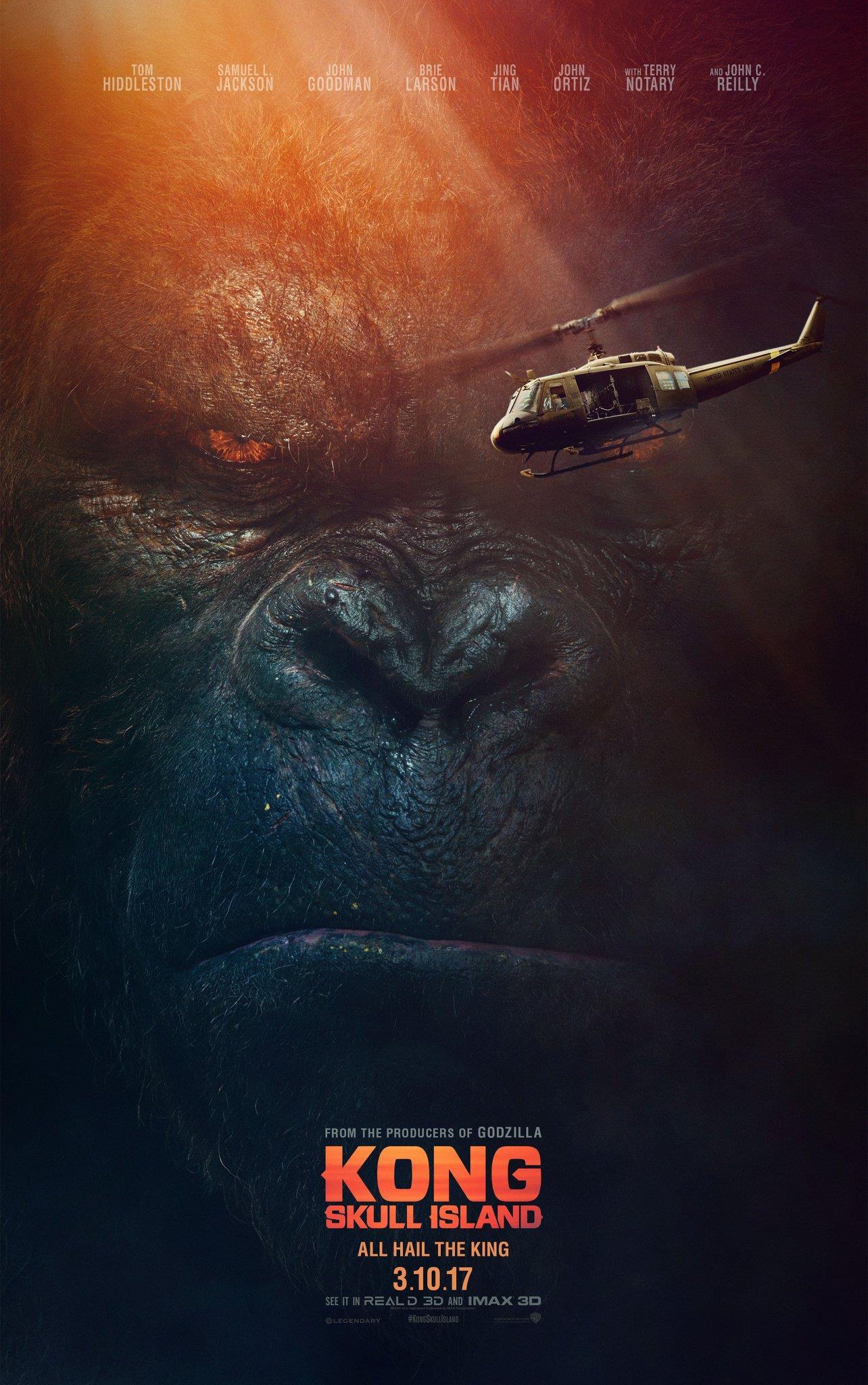 Kong Skull Island Trailer & Poster 1