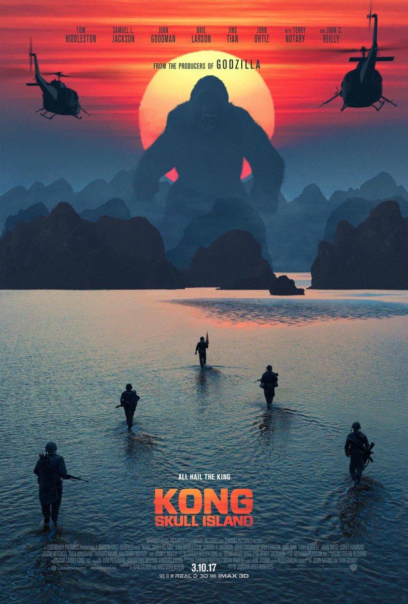 Kong Skull Island Trailer & Poster 2
